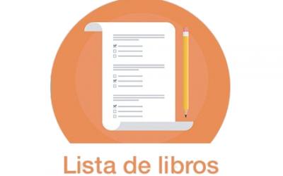 LISTA DE LIBROS 19 – 20