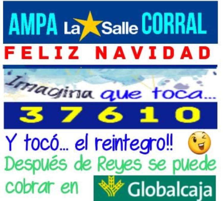 LOTERÍA DE NAVIDAD – AMPA LA SALLE