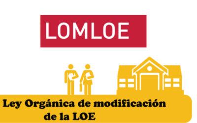 NOTA DE PRENSA sobre enmiendas al proyecto de LOMLOE