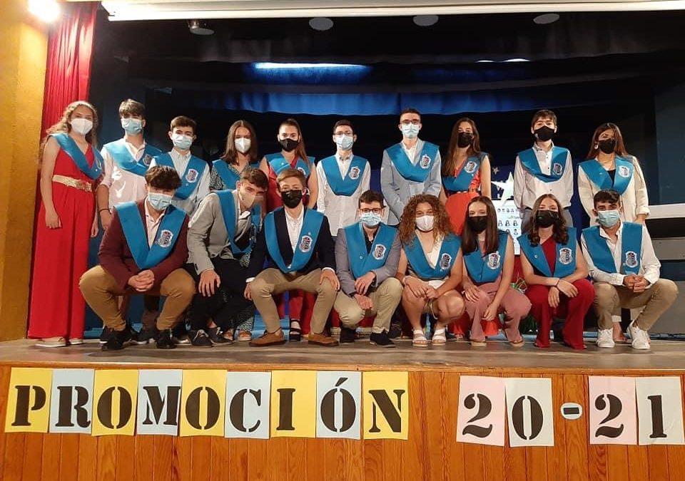 Graduación de alumnos y alumnas de 4ºESO
